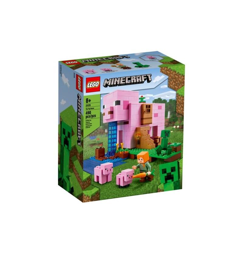 Lego Minecraft 21170 Dom W Kształcie Świni