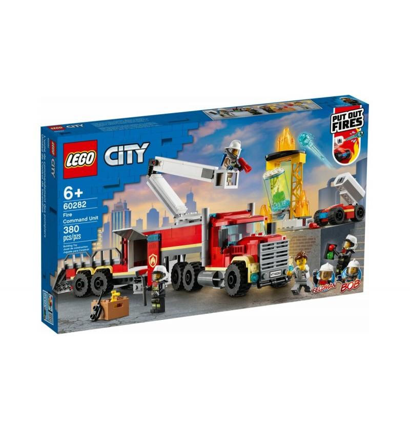 Lego City 60282 Strażacka Jednostka Dowodzenia