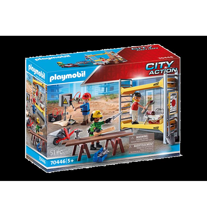 Playmobil 70446 Rusztowanie Z Robotnikami