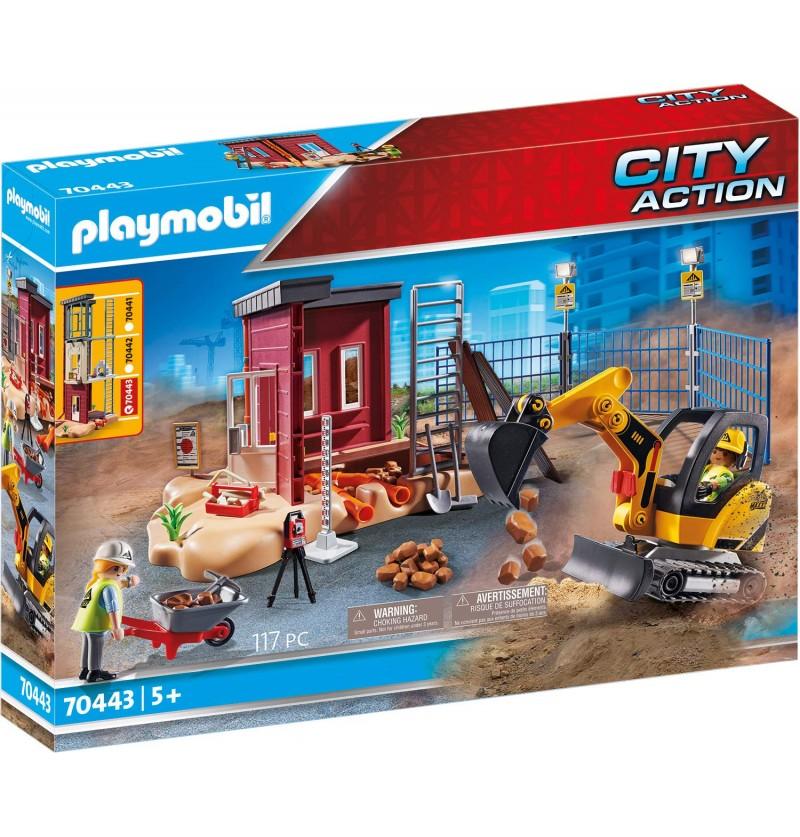 Playmobil 70443 Mała Koparka