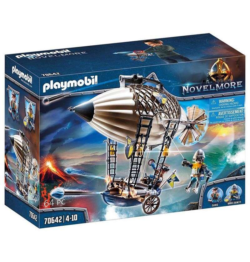Playmobil 70642 Sterowiec Dario Novelmore