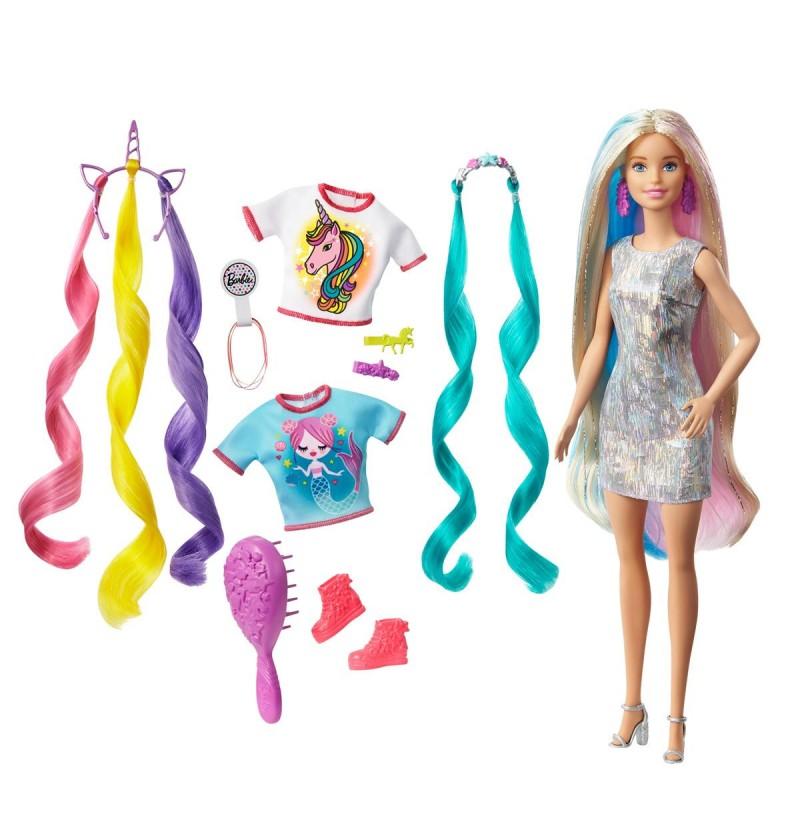 Barbie GHN04 Lalka Baśniowa Fryzura