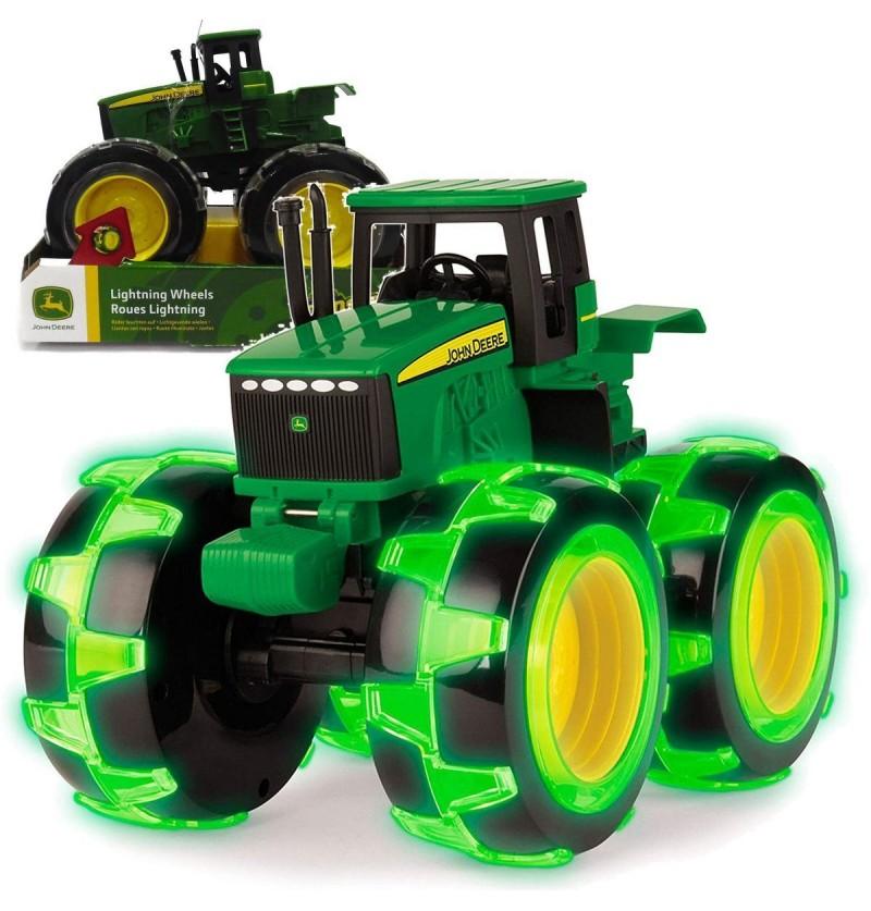 Tomy John Deere 46434 Mega Traktor Świecące Koła