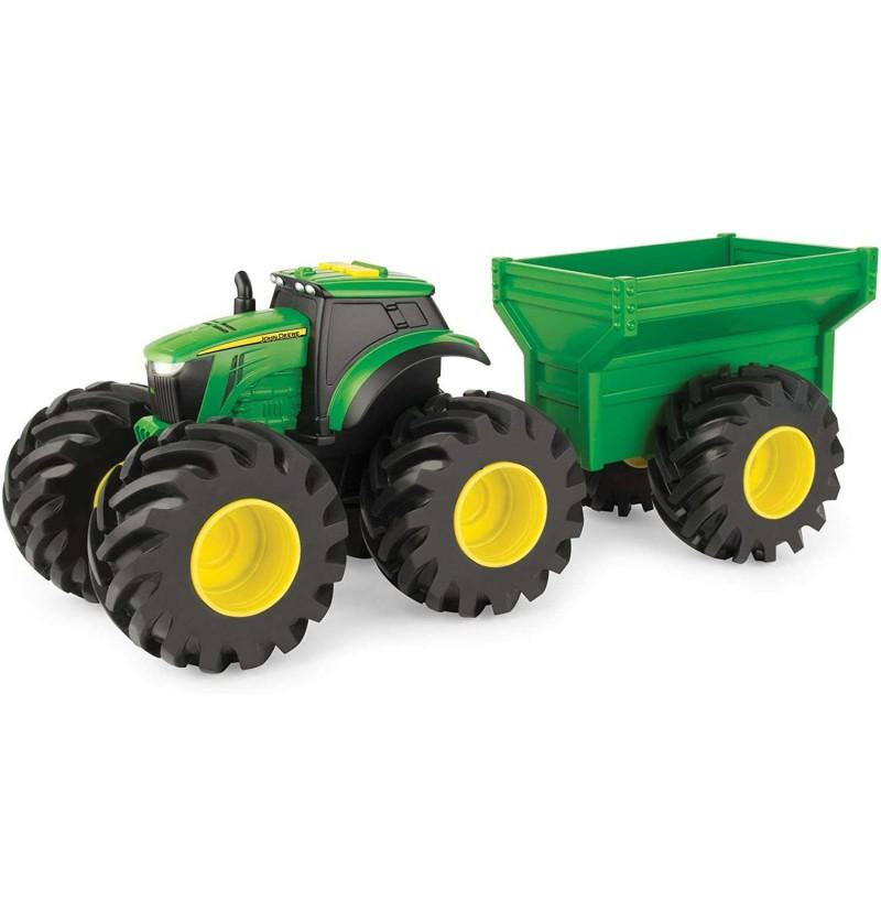 John Deere 64260 Traktor Z Przyczepą