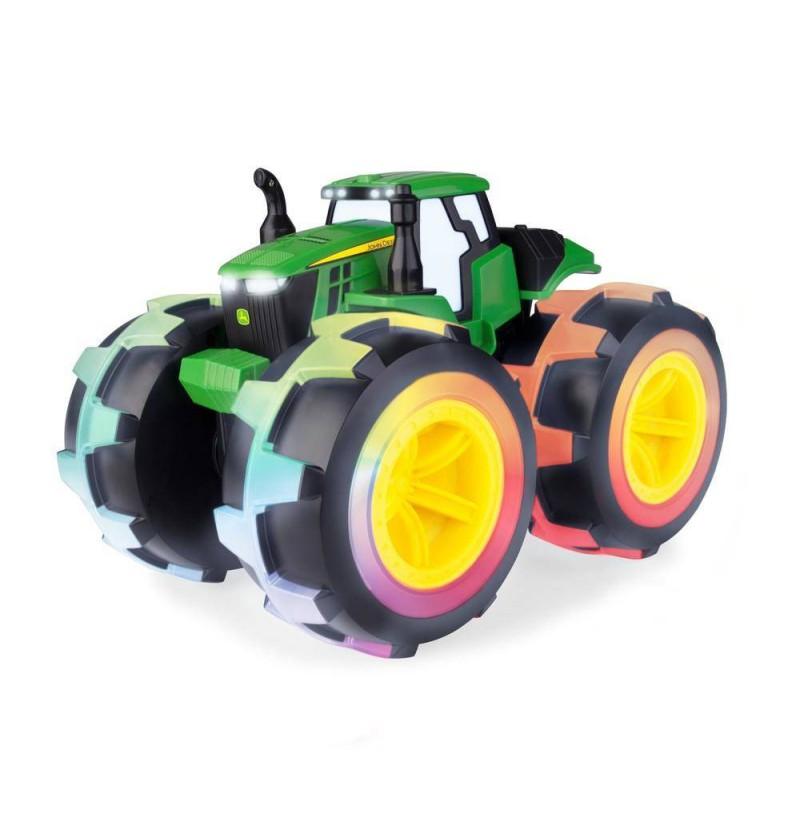 Tomy John Deere 46644 Mega Traktor Świecące Koła