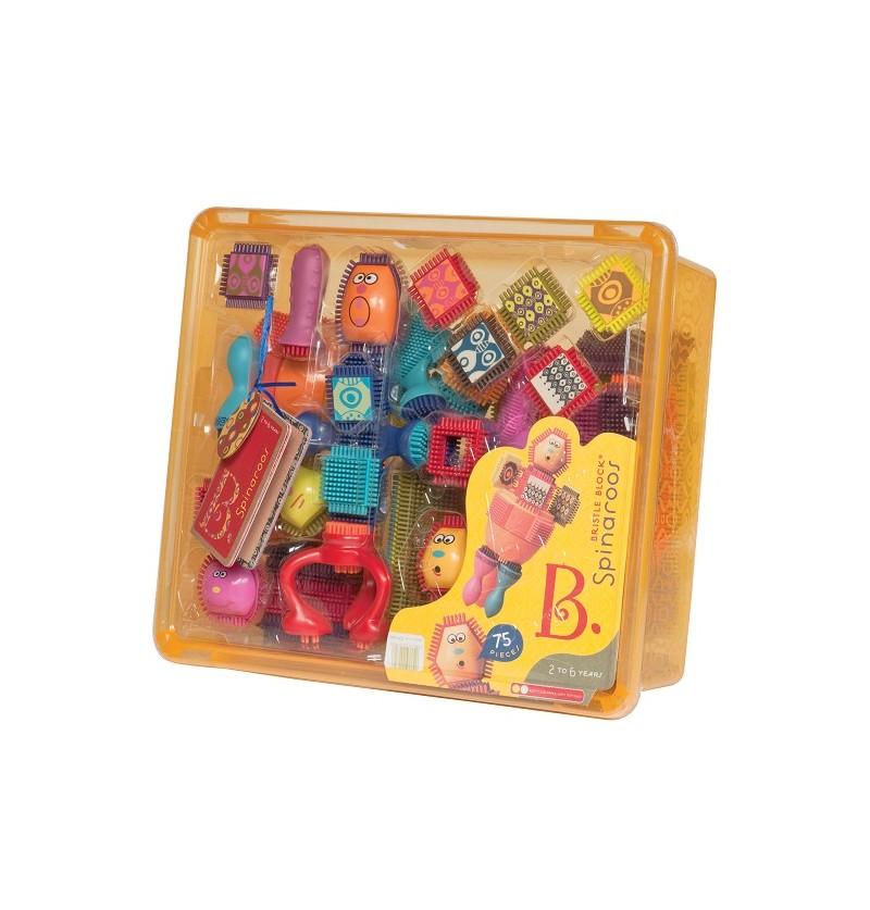 Best Toys - Klocki Jeżyki Z Buźkami BX1040