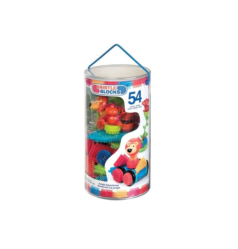 Best Toys - Klocki Jeżyki W Tubie Dżungla 3093Z