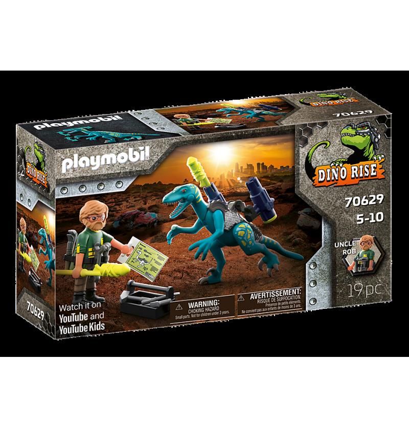 Playmobil - 70629 Uncle Rob Przygotowanie Do Bitwy