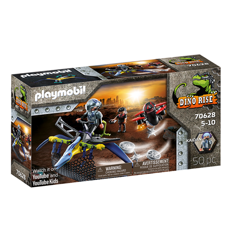 Playmobil - 70628 Pteranodon Atak Z Powietrza