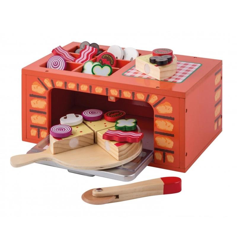Joueco - 80076 Drewniany Piec Do Pizzy