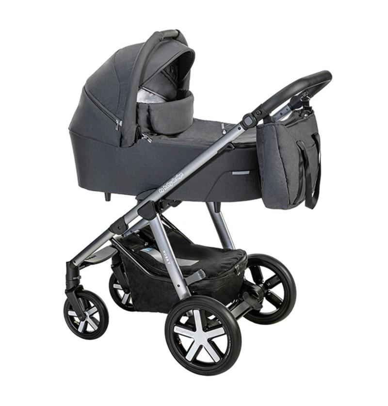 Baby Design Husky Wózek 2w1 Głęboko-Spacerowy