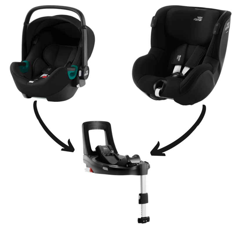 Britax-Romer Baby-Safe iSense I-Size Zestaw Modularny Fotelik Samochodowy 0-18 kg