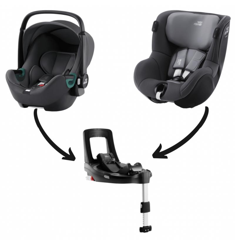Britax-Romer Baby-Safe3 I-Size Zestaw Modularny Fotelik Samochodowy 0-18 kg
