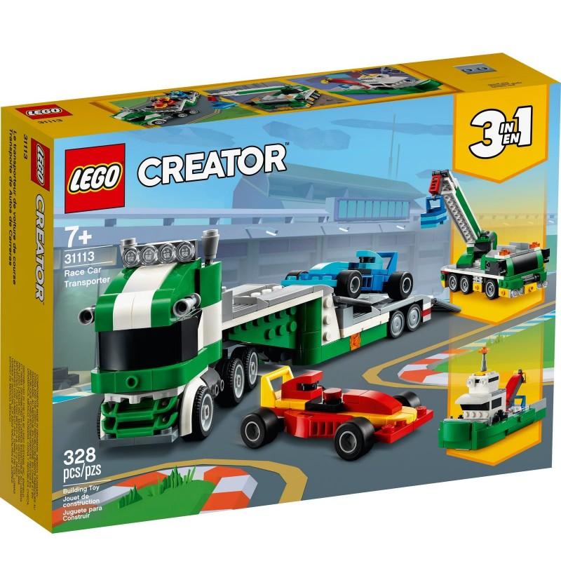 Lego Creator 31113 Laweta Z Wyścigówkami