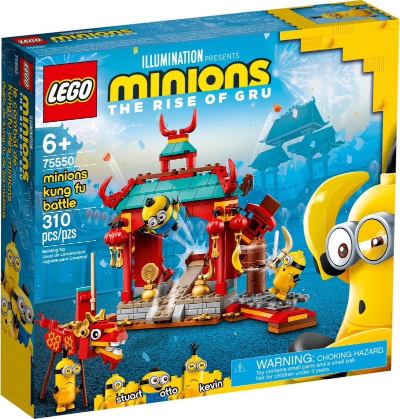 Lego Minionki 75550 Walka Kung-Fu