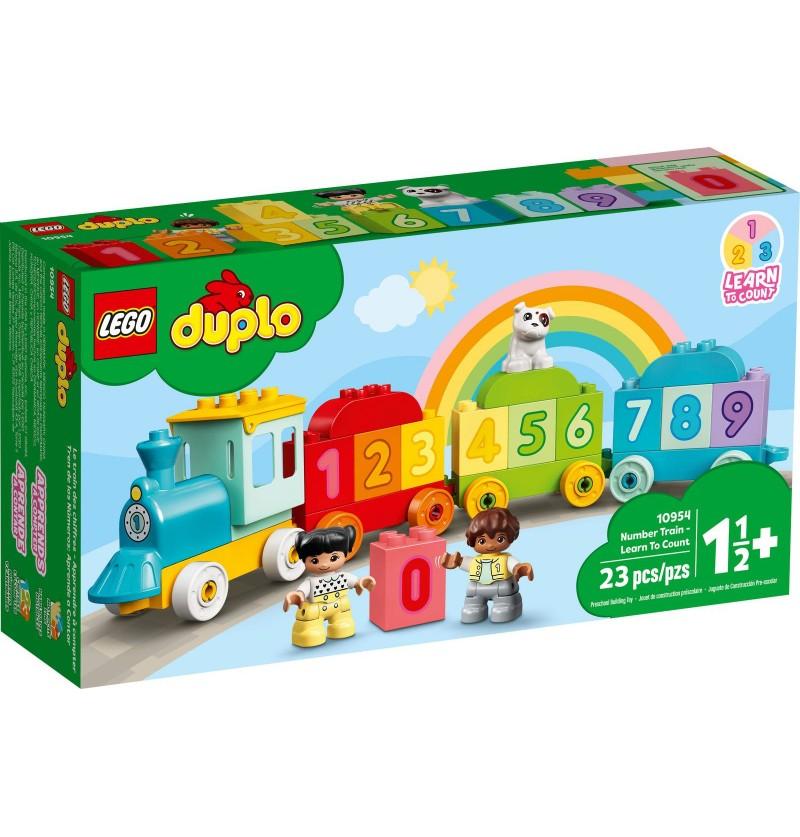 Lego Duplo 10954 Pociąg Z Cyferkami