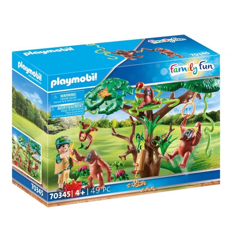 Playmobil - 70345 Orangutany Na Drzewie