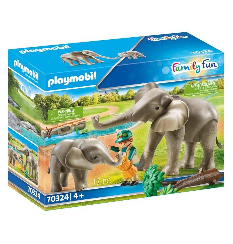 Playmobil - 70324 Słonie Na Wybiegu