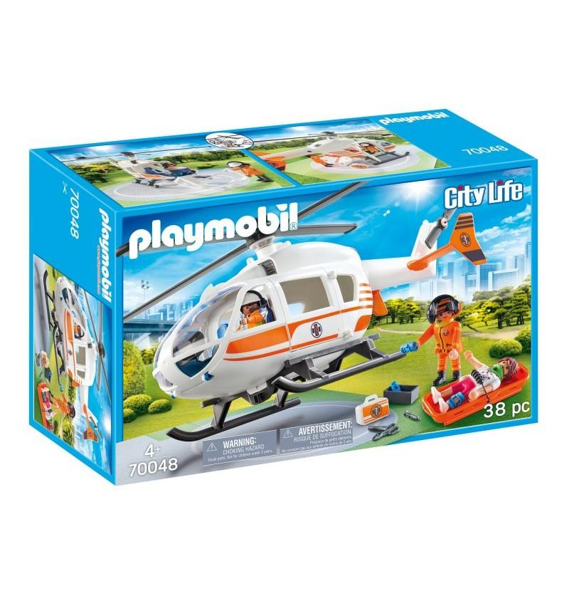 Playmobil 70048 Helikopter Ratowniczy