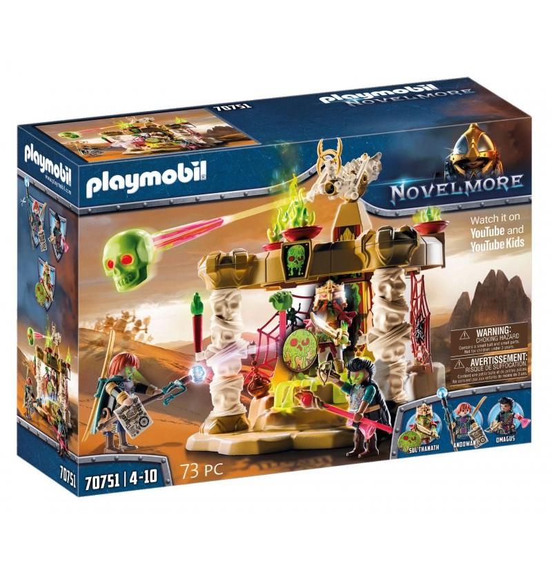 Playmobil - 70751 Novelmore Świątynia Armii Szkieletów