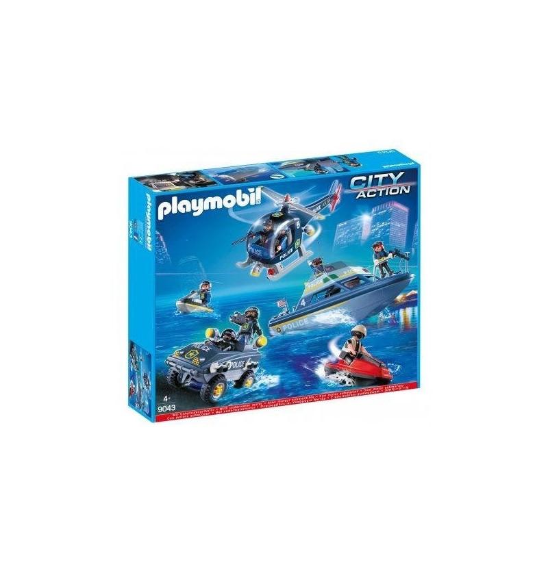Playmobil 9043 Wielka Akcja Policji