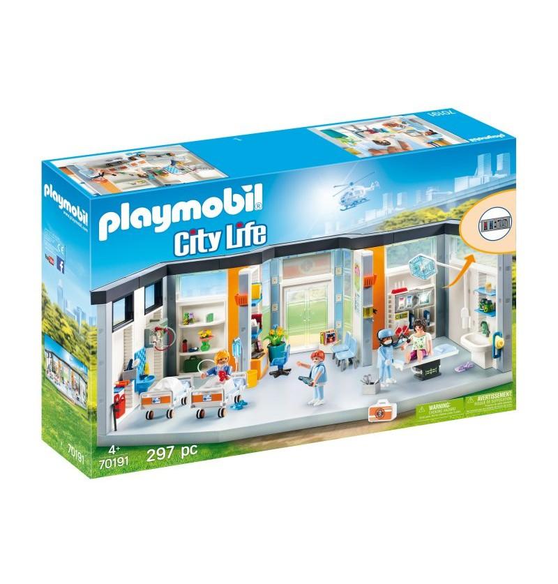 Playmobil - 70191 Szpital Z Wyposażeniem