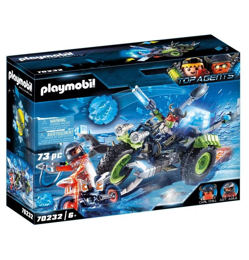 Playmobil - 70232 Arktyczni Rebelianci Lodowy Trójkołowiec
