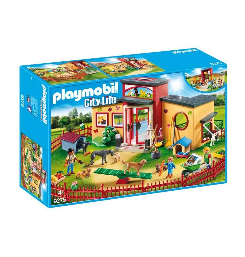 Playmobil - 9275 Hotel Dla Zwierząt Łapka