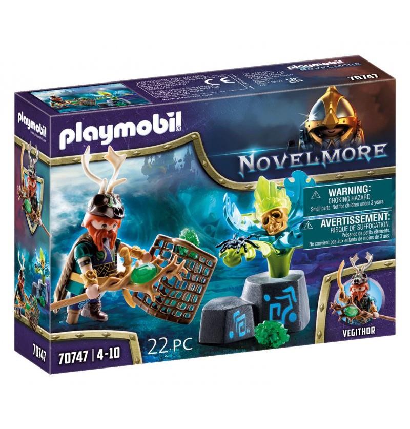 Playmobil - 70747 Novelmore Czarodziej Roślin