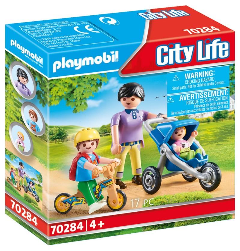 Playmobil - 70284 Mama Z Dziećmi