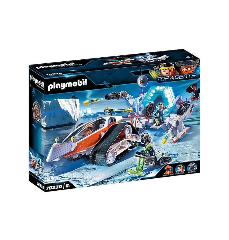 Playmobil - 70230 Spy Team Pojazd Gąsienicowy
