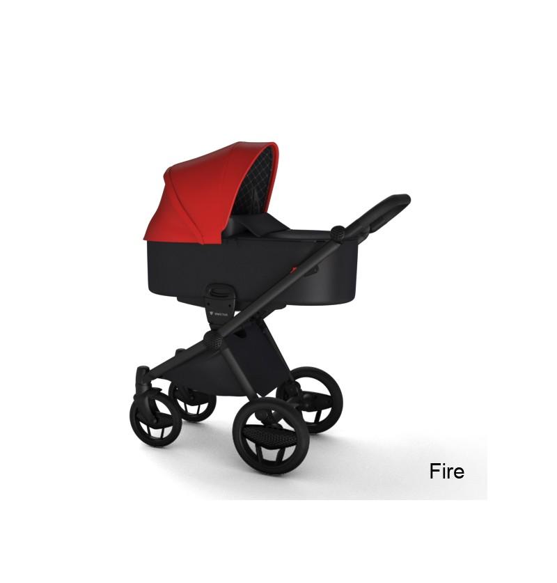 Wózek Wielofunkcyjny INVICTUS V-PRAM FIRE Rama Carbon