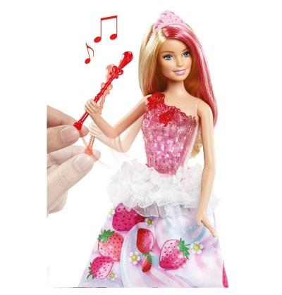 Barbie Księżniczka magiczne melodie DYX28