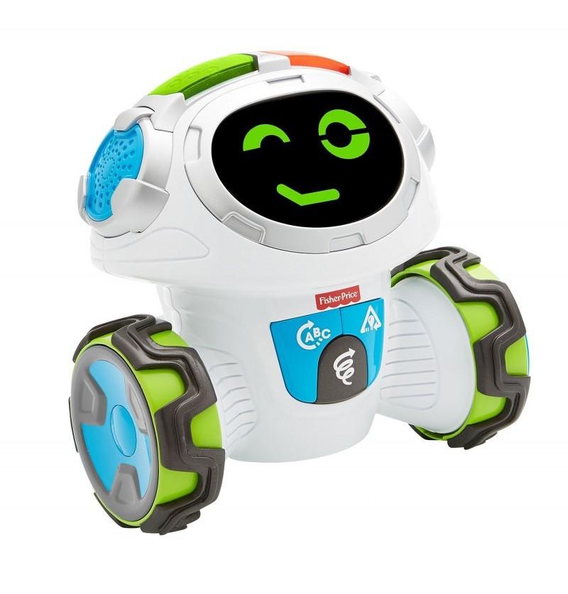 Fisher-Price Ucz się i myśl Robot Movi Mistrz Zabawy FKC36